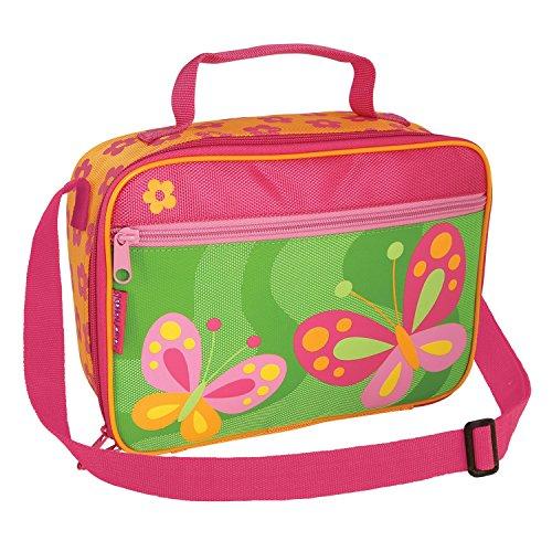 Kinder Stephen Joseph Lunchpaket mit Riemen | Stephen Joseph Lunchtaschen Pink Butterfly (Joseph-butterfly Stephen)