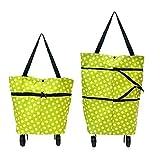 Allium Lightweight Shopping Trolley Wheel Folding Travel Luggage Bag
