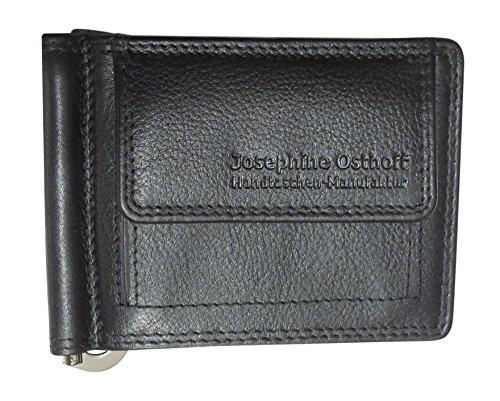 Josybag's Dollar Clip Schwarz Geldbörse Geldklammer Geldscheinclip Scheinklammer Dollarclip 914/66 (1 Dollar Weniger)