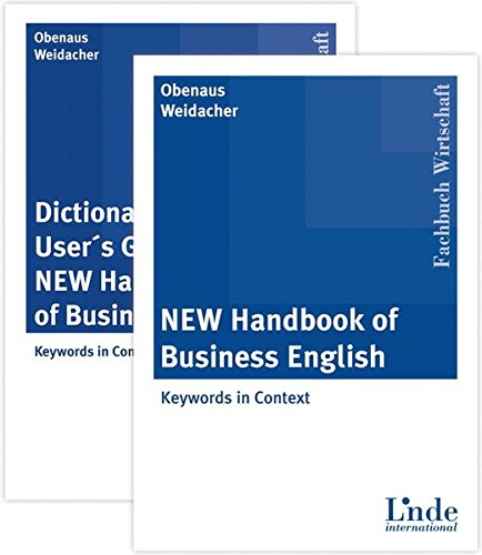 New Handbook of Business English - Package: Dictionary und User\'s Guide to the New Handbook of Business English