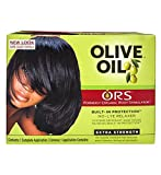 Relaxer / Glättungscreme Organic Root Stimulator Olive Oil Built-In Protection...