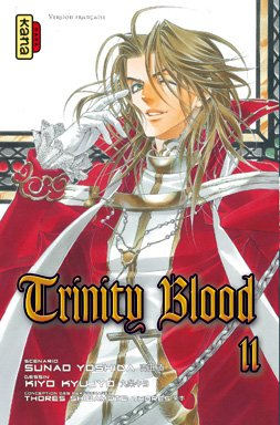 Trinity Blood Vol.11 par YOSHIDA Sunao