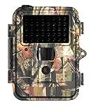 Fotofalle BLACK-VERSION mit unsichtbarem IR-Blitz, Wildkamera mit 5 cm LCD Monitor und 5 MP Auflösung K91432 von Kingdiscount, Bild- und Videofunktion, 14,5 cm x 11,5 cm klein