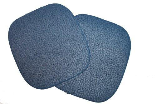 dalipo 05006 - Bügelflicken, Kunstleder, ca. 10,8x9,8cm, blau