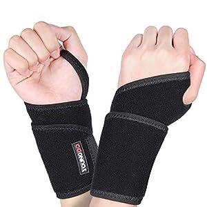 Youngdo Handgelenkbandage Set/Handgelenkschoner/Handgelenkstütze für Karpaltunnelsyndrom Kraftsport, Alltag Fitness