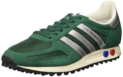 meet 9fcad f15cc adidas la Trainer Og, Scarpe da Ginnastica Basse Uomo, Verde (Collegiate  Green