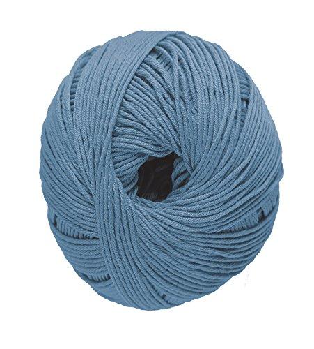 DMC Natura Hilo, 100% algodón, Azul Pantalones Vaqueros