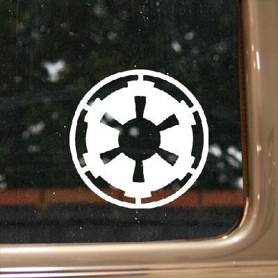 Empire Galactic K l T auto Home Decor D finestra i R decorazione notebook e C Bike Star Wars Art C e adesivo in vinile da parete casco a S