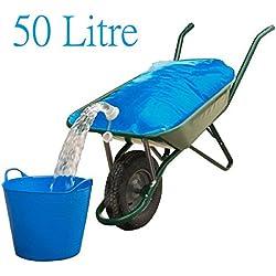 Spares2go Garten & Farm Wasser Container Schubkarre Tasche (50Liter)