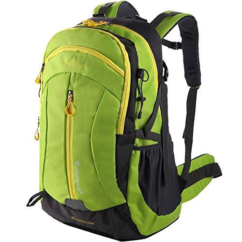 HWLXBB Outdoor Bergsteigen Tasche Männlich und Weiblich 60L Wasserdichte Mehrzweck-Bergsteigen Tasche Wandern Camping Bergsteigen Rucksack 2*