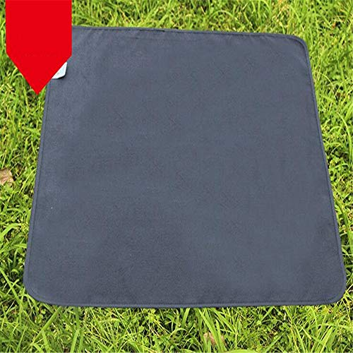 Klein Ball Teppich-Leichte Outdoor Camping Mat Kissen Feuchtigkeitsfeste Klapp Picknick Matte Sitz wasserdichte Strandmatte Outdoor Decke Boden Tarp45X45CM