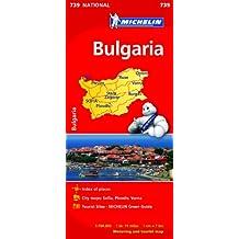 Bulgaria (Michelin National Maps)