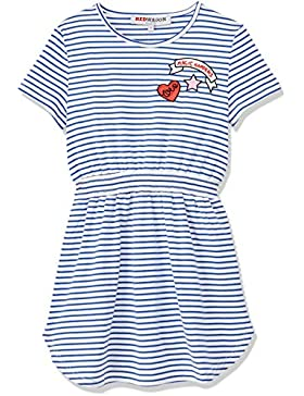 RED WAGON Mädchen Kleid Striped Sporty Dress