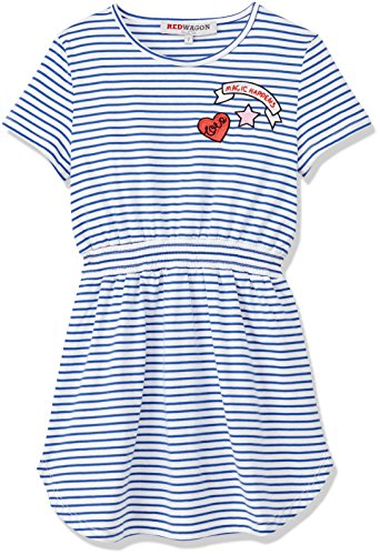 RED WAGON Girl's Striped Sporty Dress