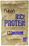 Pulsin' Unflavoured Rice Protein Powder 250g | 80% Protein | Natural | Raw | Vegan | Gluten Free | Soya Free