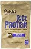 Pulsin' Unflavoured Rice Protein Powder 250g | 80% Protéine | Naturel | Raw | végétalien | Sans gluten | Soya Free