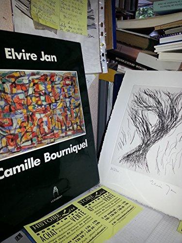 Camille Bourniquel Elvire Jan Histoire d'une amiti Complet de sa gravure numrote et signe
