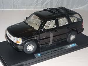 GMC 2001 Yukon Denali Schwarz Suv 1/18 Welly Modellauto Modell Auto
