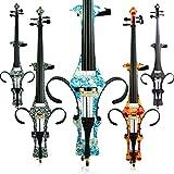 Aliyes Handmade professionale in legno massiccio violoncello elettrico 4/4Full size Silent violoncello elettrico, DT-1201