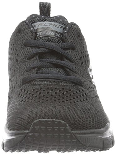 Skechers - Fashion Fit Statement Piece, Scarpe da ginnastica Donna Nero (BBK)