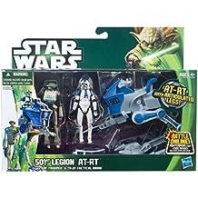 "Star Wars [Hasbro Actionfigur] 3,75 Zoll ""Vehicle Ebene 1"" 2013-Version von AT-RT (No. 501 Bataillon-Version)"