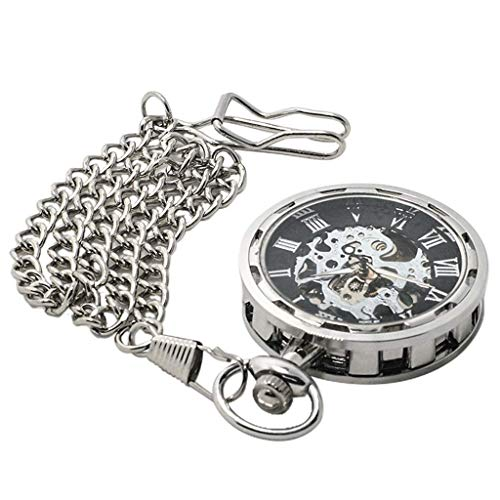 ACZZ Reloj de bolsillo para hombre '