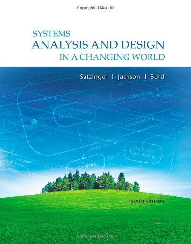 P D F Systems Analysis And Design In A Changing World Ebook Epub Kindle By John W Satzinger Deuyw7r3478r63fyurey