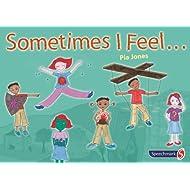 NRS Healthcare Sometimes I Feel - Tarjetas ilustradas para personas con dificultades de habla, 48 unidades