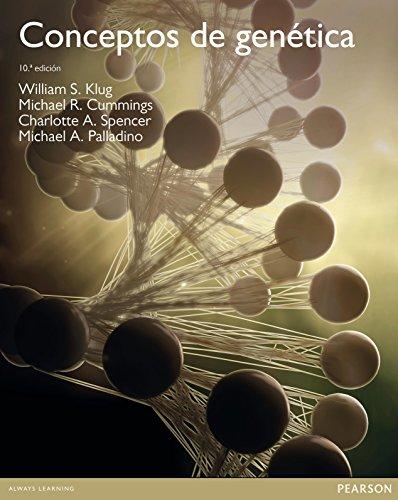 Conceptos de genética por William S Klug