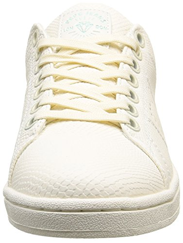 Pepe Jeans Club Monocrome, Baskets femme Blanc (800 White)