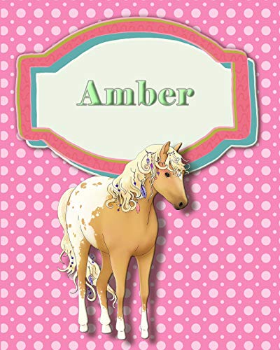 Handwriting and Illustration Story Paper 120 Pages Amber: Primary Grades Handwriting Book