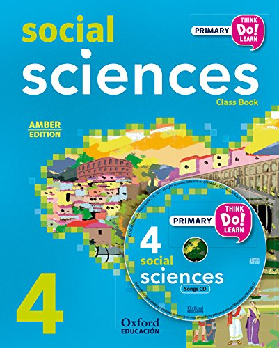 Pack Amber Social Science Primary 4 Student's Book (+ CD) (Think Do Learn)