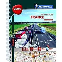 Atlas France 2016 PRO de la route Michelin