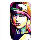 "This durable, stylish ""famous american pop star singer"" 3D Designer case keeps your Motorola Moto E2 :: Motorola Moto E Dual SIM (2nd Gen) :: Motorola Moto E 2nd Gen 3G XT1506 :: Motorola Moto E 2nd Gen 4G XT1521 safe and protected. This ""famous amer..."