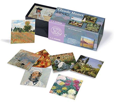 Claude Monet. Memo: Gedächtnisspiel mit 36 Motiven des berühmten Impressionisten