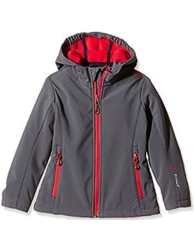 Softshell Outdoor Jacke CMP für Kinder mit Fleece-Innenausstattung und Kapuze, in vielen Farben erhältlich. Wasserabweisend...
