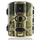 Trail Watcher Wildkamera, 16MP, 1080P, Infrarot-Nachtsicht-Kamera mit 6,1 cm (2,4 Zoll) LCD, 24IR-LED bis zu 20m, IP65-wassergeschützt, für Wildtiere, Jagd, Überwachung und Bauernhof-Sicherheit, M330-1, camouflage