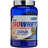 Quamtrax Nutrition Suplemento para Deportistas Isowhey, Sabor a Chocolate Blanco - 907 gr