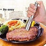 Stainless Steel Thumb spingere sale pepe spezie salsa smerigliatrice mulino Muller bastone