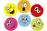 Partynelly 12 Notizblöcke Smiley | Lachgesicht | Notizblock | Mitgebsel | Kindergeburtstag