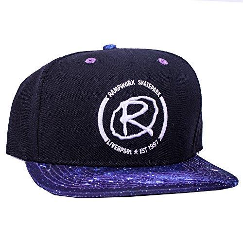 Rampworx Snapback Cap schwarz Galaxy (Adidas Galaxy Cap)