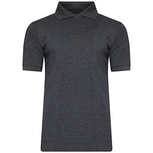 Get The Trend Herren Poloshirt Anthrazit