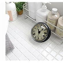 GzxLaY De estilo europeo Retro Bells baño / WC / Cocina / Reloj impermeable Sucker / Electrodomésticos Reloj de pared de refrigerador 8CM (reloj de refrigerador de succión directa)
