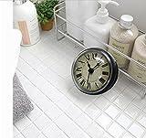 Reloj de Pared 3D De estilo europeo Retro Bells baño / WC / Cocina / Reloj impermeable Sucker /...