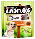 Purina Adventuros Mini Sticks golosinas y chuches natural para perros 6 x 90 g