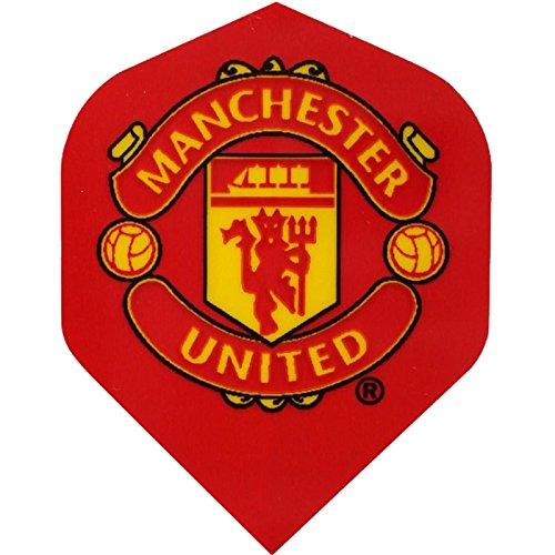 FOOTBALL Dart Flights–authentische Lizenzprodukt Premiership Team Flights–Manchester United–10Sets (30) (Flights Dart United Manchester)