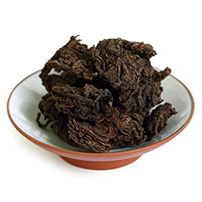 GOARTEA 100g (3.5 Oz) 2006 Year Supreme Organic Yunnan Aged Natural Tuo Head Ripe puer Pu'er Puerh Tea pu-erh