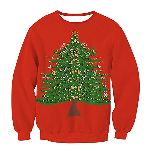 Sepbear - Sweat-shirt - Femme Christmas Tree