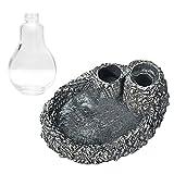 Beetest Distributeur d'eau de Reptiles, Distributeur Automatique d'eau de Distributeur de Nourriture de Plat de Reptile Bol d'alimentation pour la Grenouille de Tortues d'animal familier