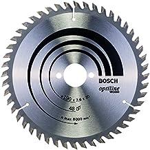 Bosch 2608640617 Optiline Lama Circolare, 190 x 30, 48D - Sega Circolare Marchi